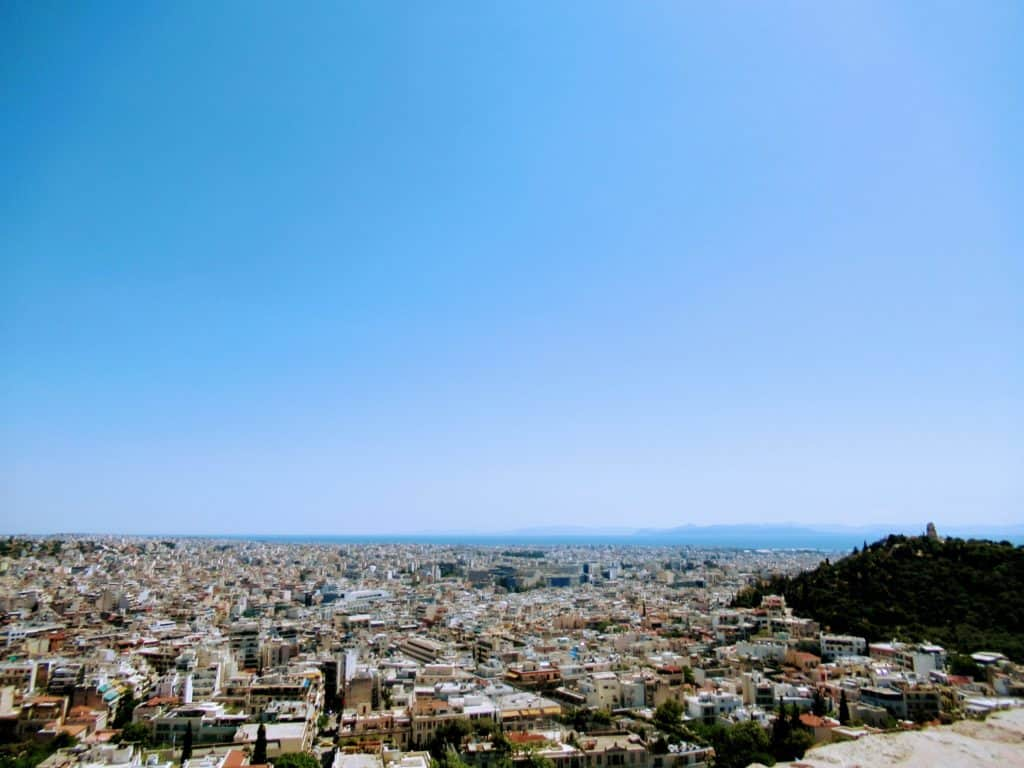 Picture of Greece taken while working abroad