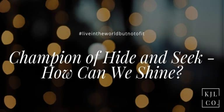 Champion of Hide and Seek – How Can We Shine?
