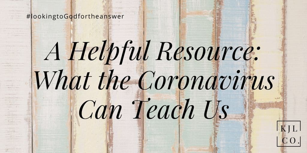 What the coronavirus can teach us resource