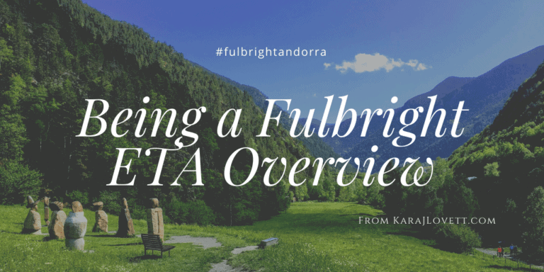 Being a Fulbright English Teaching Assistant
