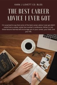 the best career advice I ever got - 2