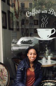 Kara J Lovett loves coffee