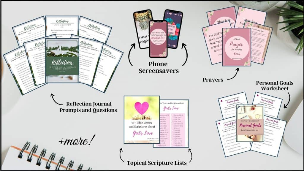 Images of the freebies and free printables