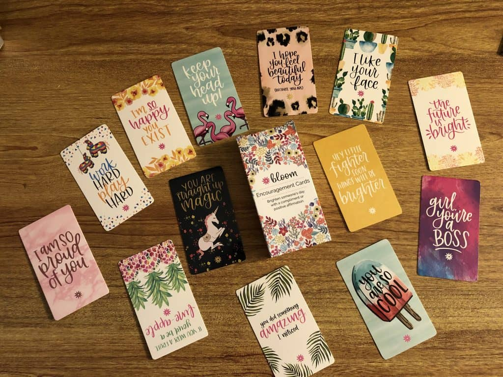 Encouragement Cards for Ways to Show God's Love