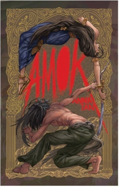 The cover of Amok by Anna Tan