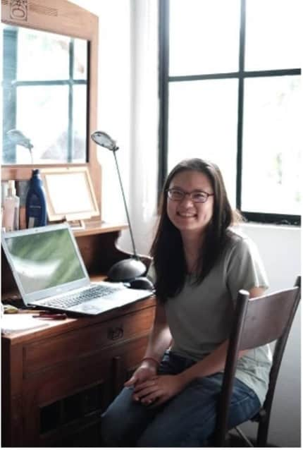 A picture of Anna Tan, the owner of Teaspoon Publishing and the author of Amok
